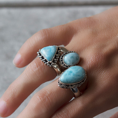 Atlantis Larimar Ring