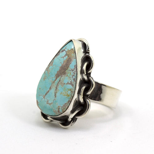 Earth and Sky Turquoise Ring