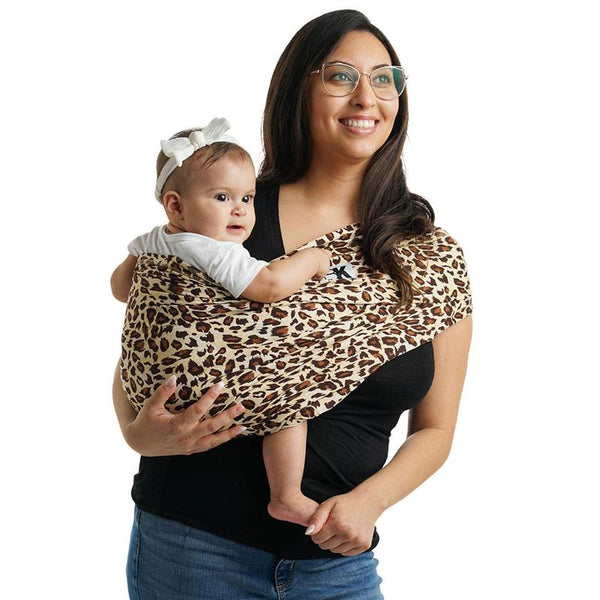 Baby K'tan Cotton Print | Leopard Love Brown