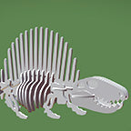 Dimetrodon 3D instructions