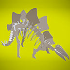 Stegosaurus 3D instructions