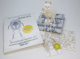 Angel miniature skeleton model with instructions and packaging