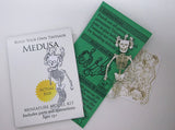 Medusa miniature skeleton model with instructions