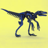 Completed Velociraptor skeleton model