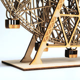 Wood Wonder Wheel Base close up