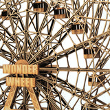Wood Wonder Wheel close up