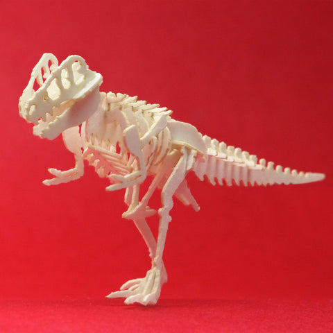 True Rex miniature T-rex skeleton model