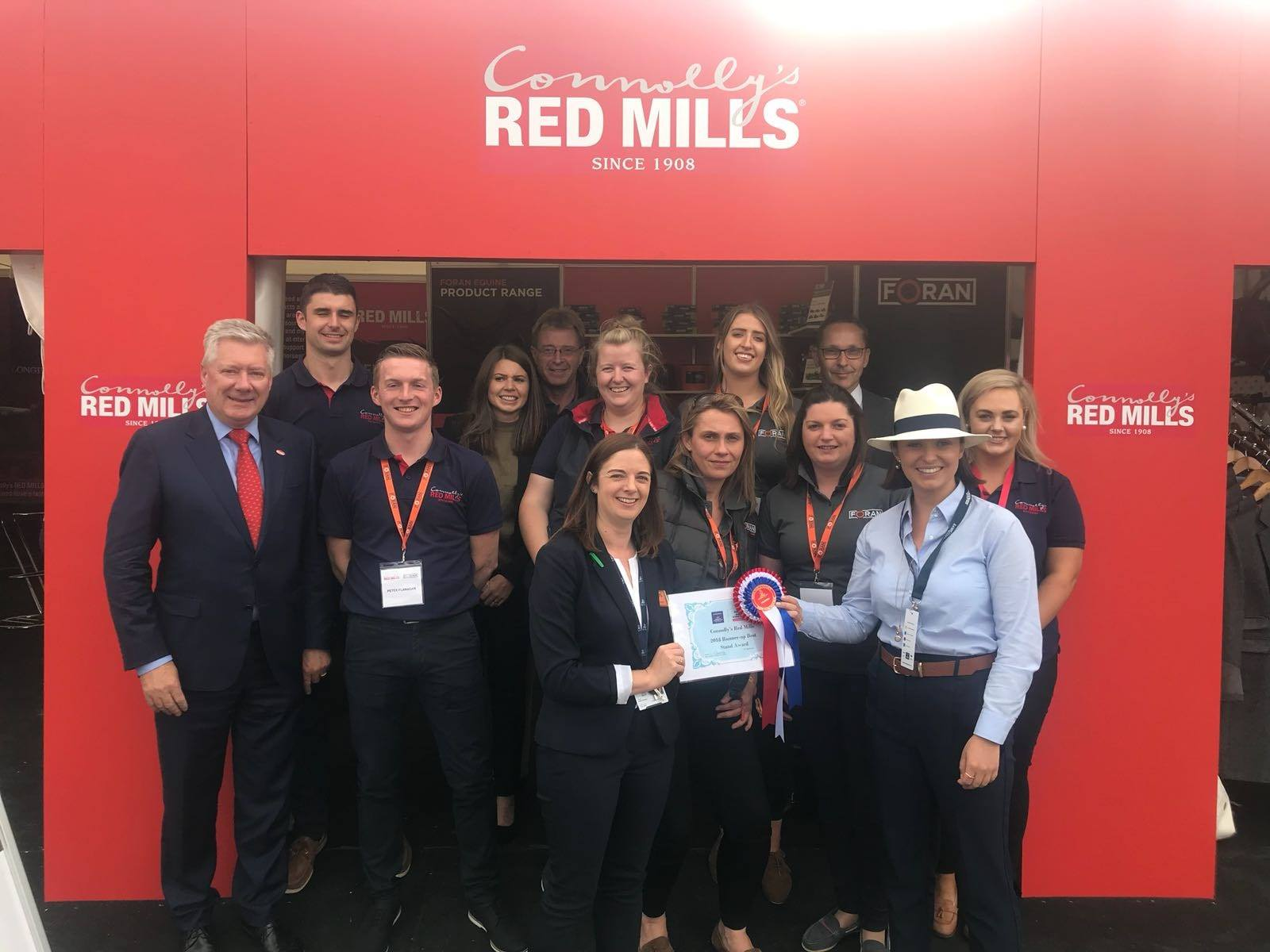 Success all around at the 2018 Dublin Horse Show
