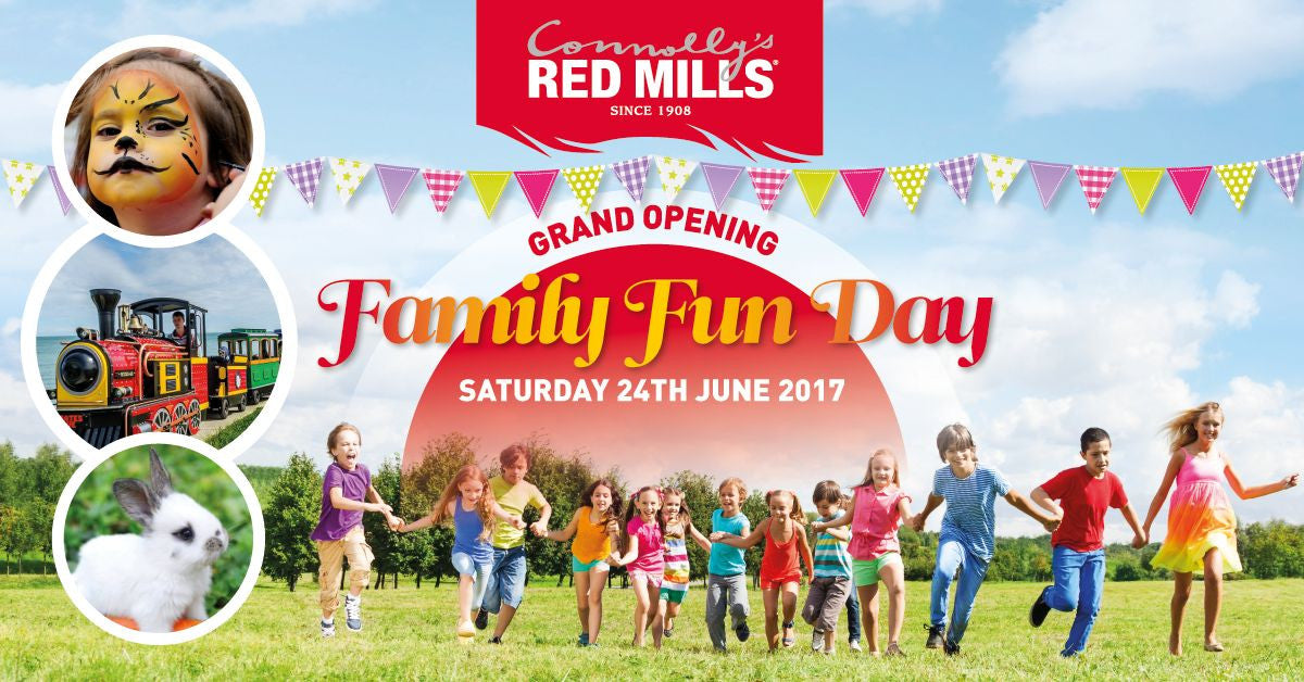 Red Mills Store Grand Opening Family Fun Day - Saturday 24th June