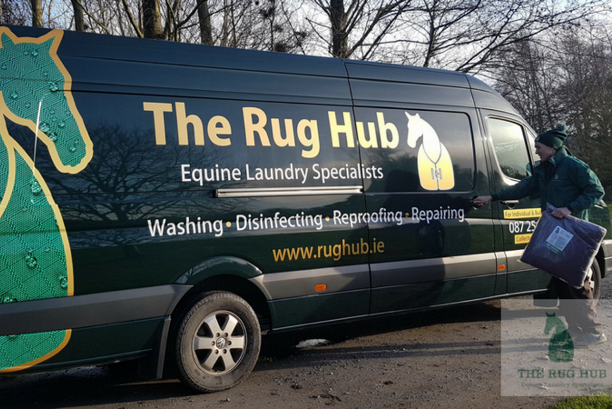 New drop off & collection point for The Rug Hub at RED MILLS Cillin Hill