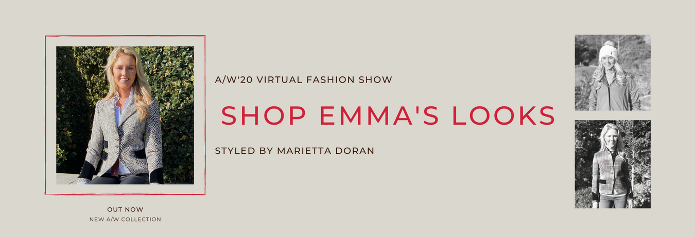 Emma on AW Virtual Fashion Show