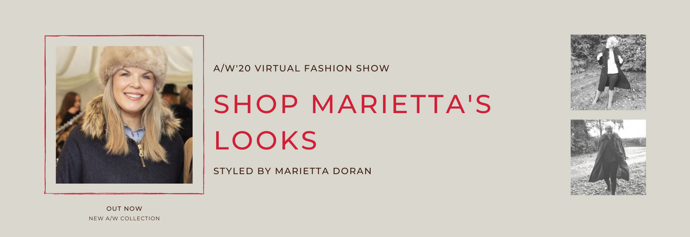 Marietta on Virtual Fashion Show