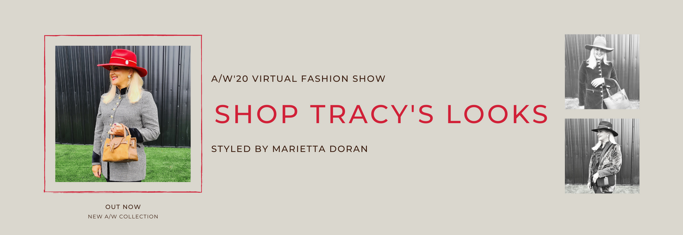 Tracy on AW Virtual Fashion Show