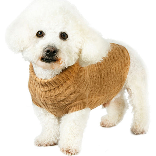 Urban Pup waffle textured knitted dog jumper - RedMillsStore.ie