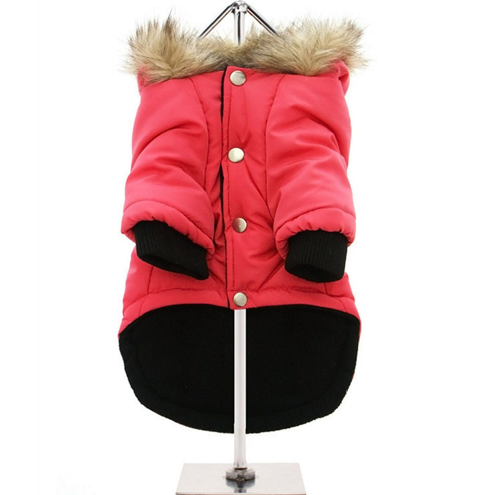 Urban Pup salmon pink alpine dog coat