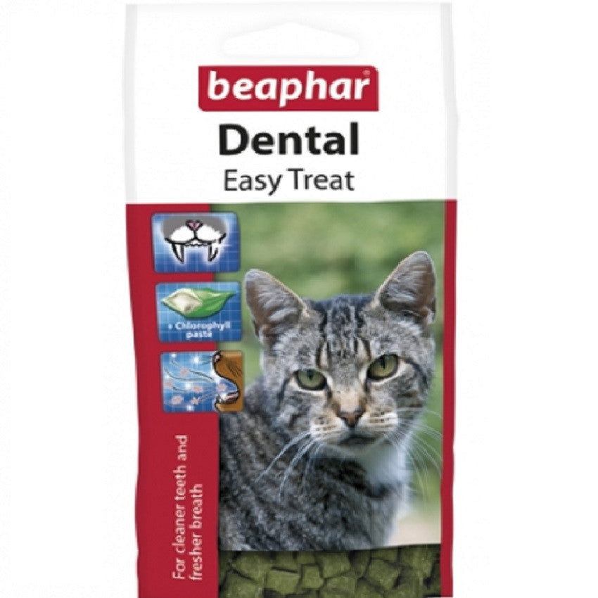 Beaphar Dental Easy Treat Cat - RedMillsStore.ie