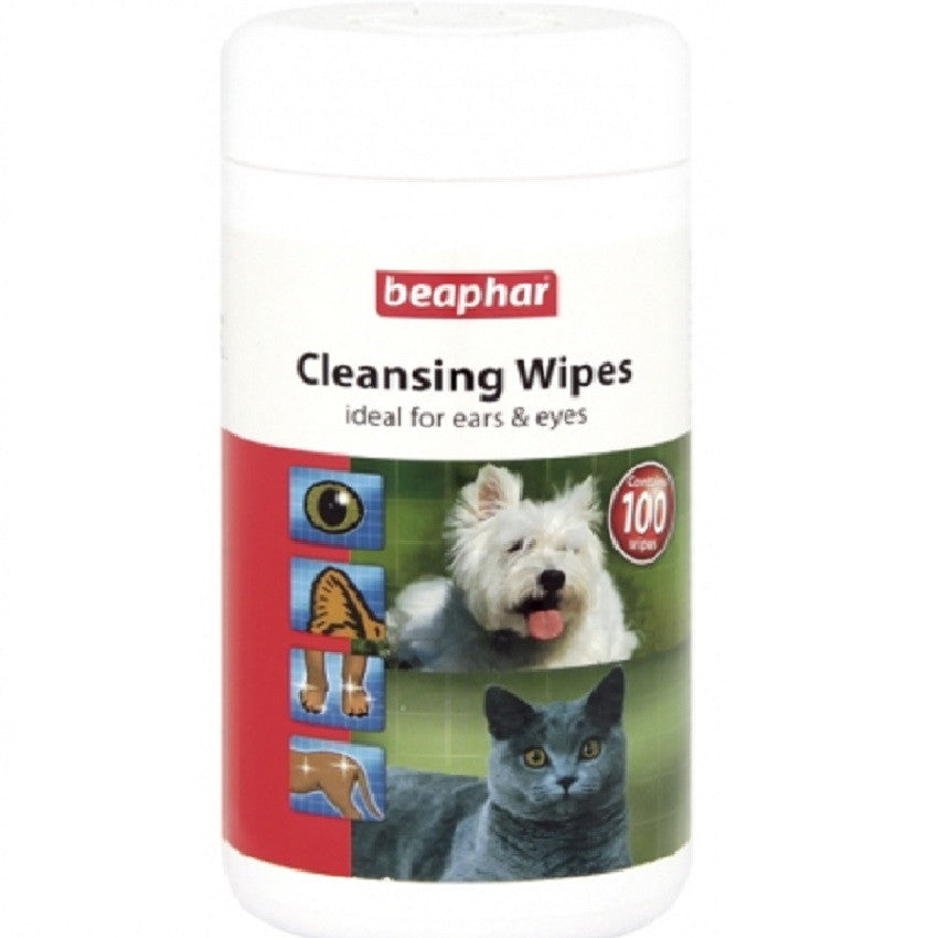 Beaphar Cleansing Wipes - RedMillsStore.ie