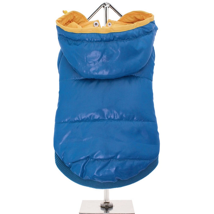 Urban Pup blue insulated panel dog jacket - RedMillsStore.ie