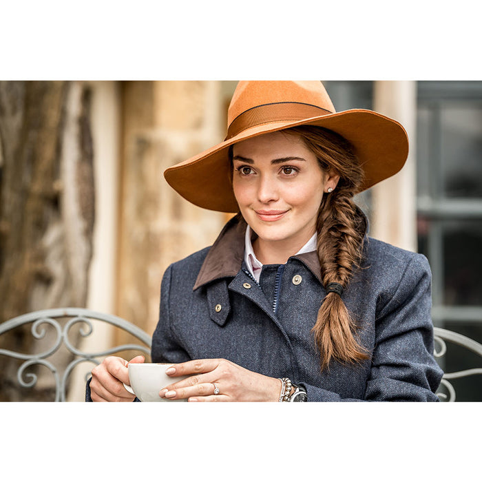 Schoffel Sofia Hat Tan One Size - RedMillsStore.ie