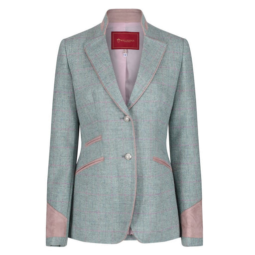 Welligogs 'Ascot' womens wool blazer in mint green - RedMillsStore.ie