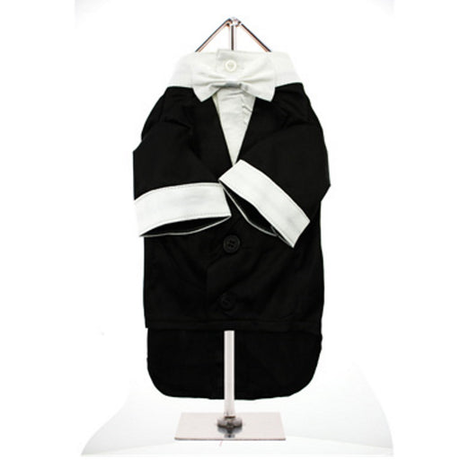 Urban Pup Big Day Tuxedo with Bow Tie Collar - RedMillsStore.ie