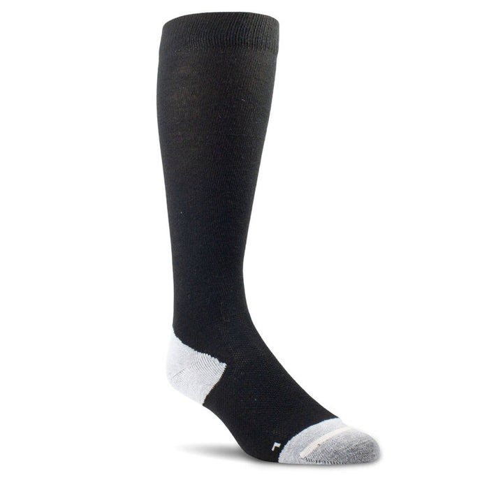 AriatTEK Performance Socks in Back and White