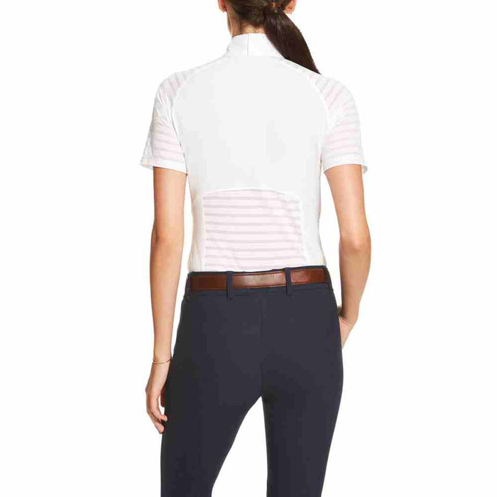 Ariat Womens Aptos Vent Show Shirt - White - RedMillsStore.ie
