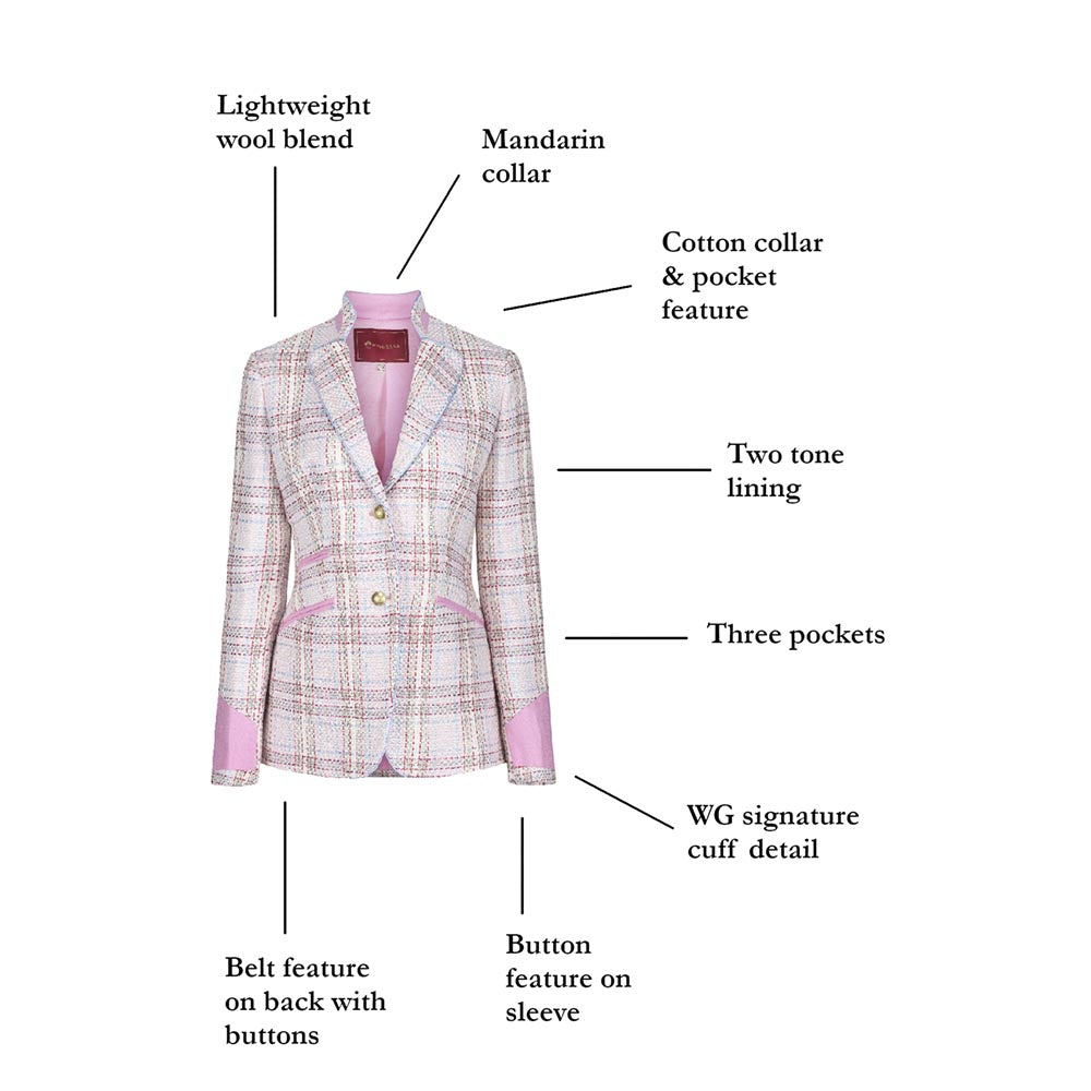 WG Women's Ascot Jacket in Sunrise