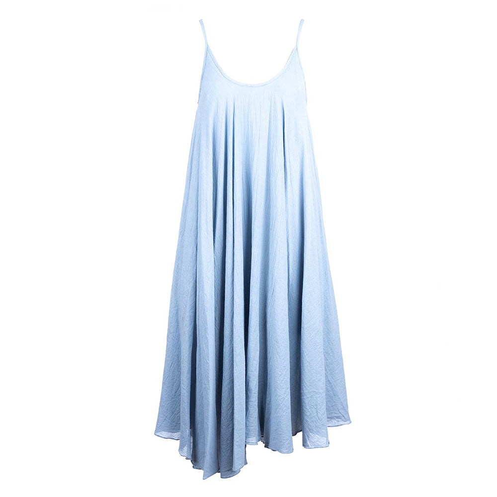 WG Women's Layered Dress in Blue