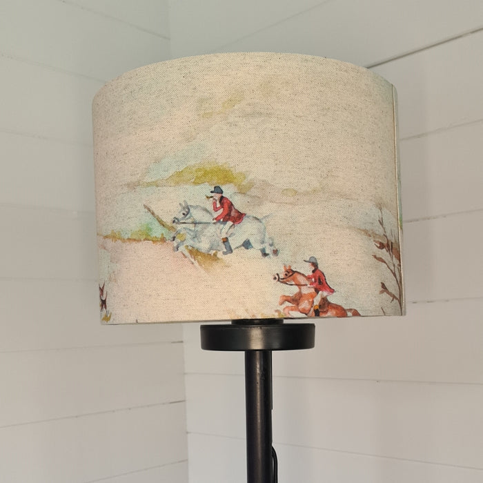 Crafts by Ger Handmade 30cm lamp shade in hunting print