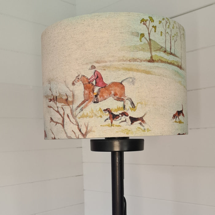 Crafts by Ger Handmade 20cm lamp shade in hunting print