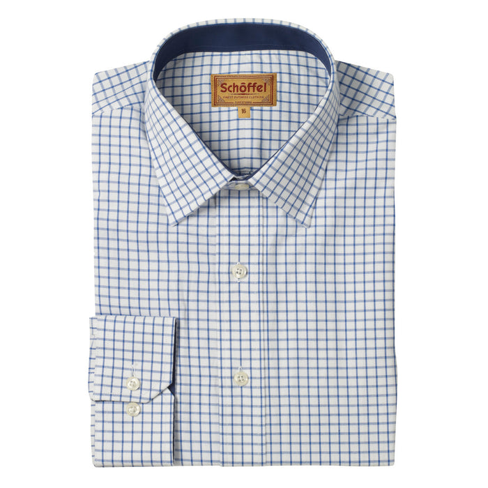 Schoffel Men's Cambridge Classic Shirt Navy