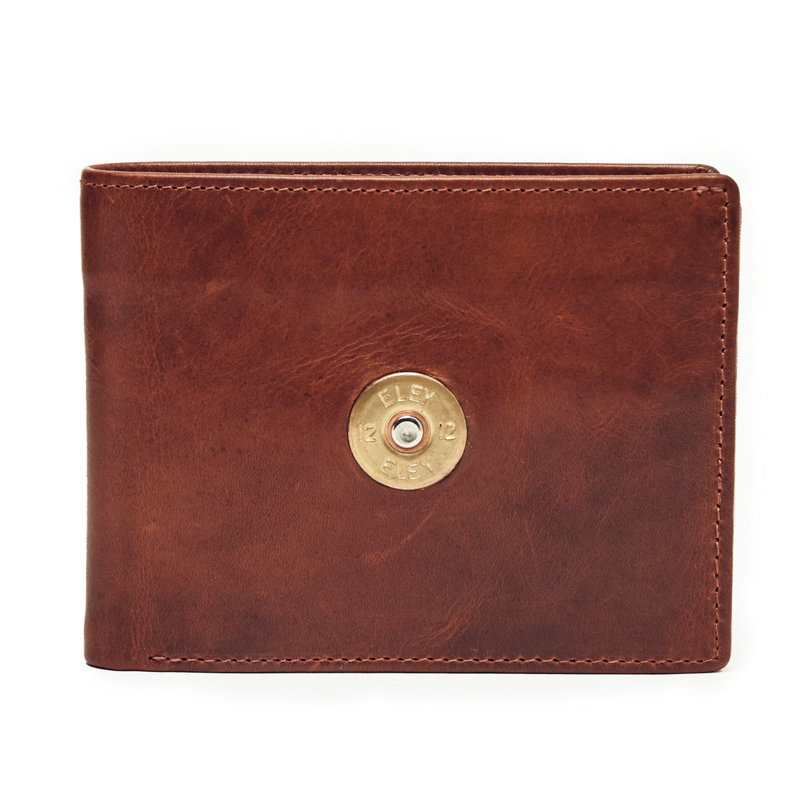 Hicks & Hide 12bore Wallet Cognac Leather - RedMillsStore.ie