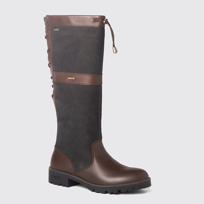 Dubarry Women's Glanmire Country Boot in Black/Brown