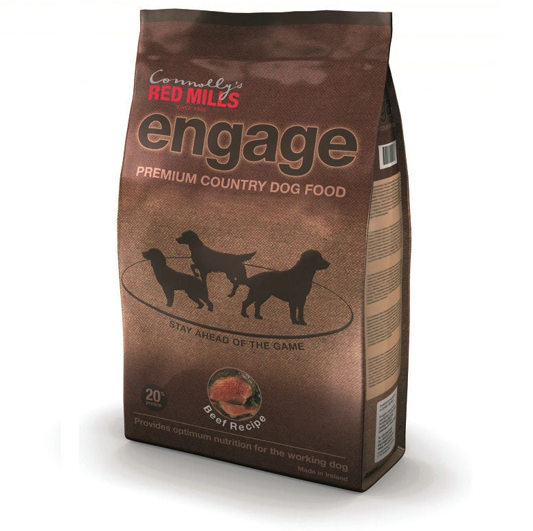 Red Mills Engage Beef recipe dog food - RedMillsStore.ie