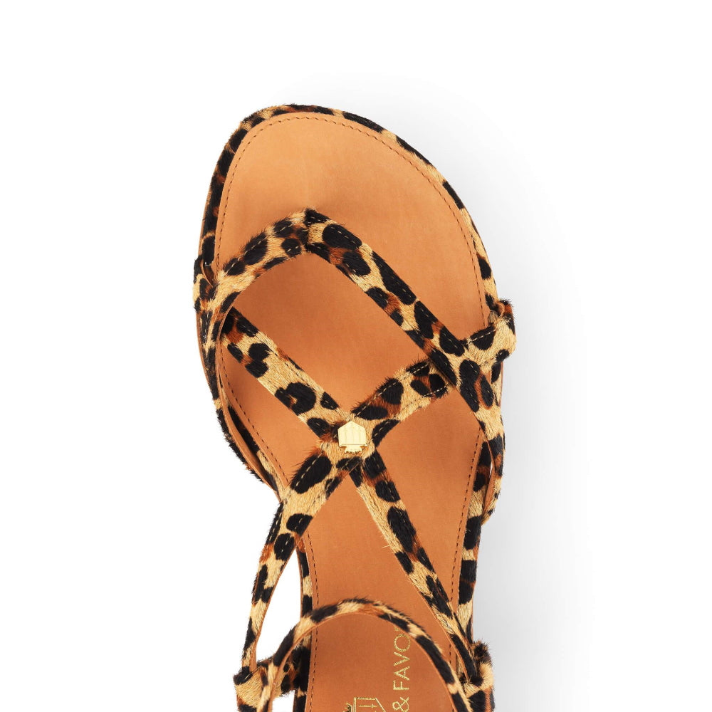 Fairfax & Favor Brancaster Sandal in Jaguar - RedMillsStore.ie