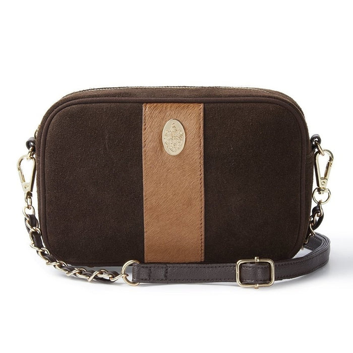 Hicks & Brown Melton Bag in Brown