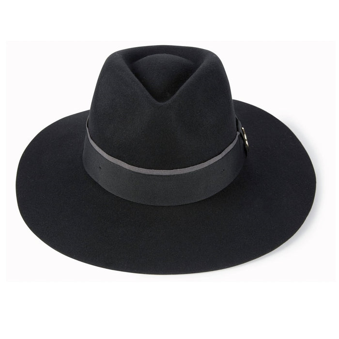 Hicks & Brown 'The Oxley' Fedora in Black