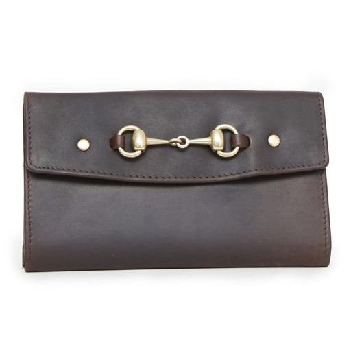 Hicks & Hide Hidcote Bit Purse Brown Leather - RedMillsStore.ie