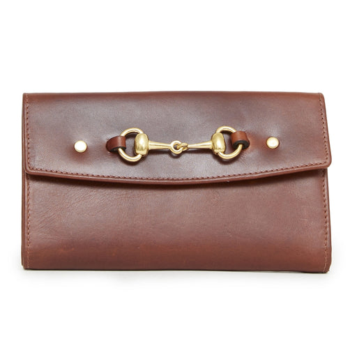 Hicks & Hide Hidcote Bit Purse Cognac Leather - RedMillsStore.ie