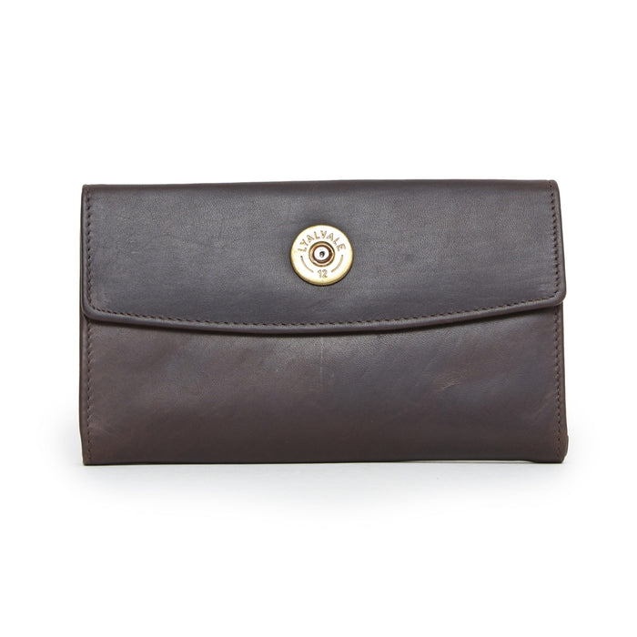 Hicks & Hide Hidcote Cartridge Purse Brown Leather - RedMillsStore.ie