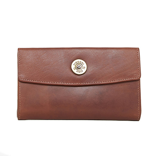 Hicks & Hide Hidcote Cartridge Purse Cognac Leather - RedMillsStore.ie