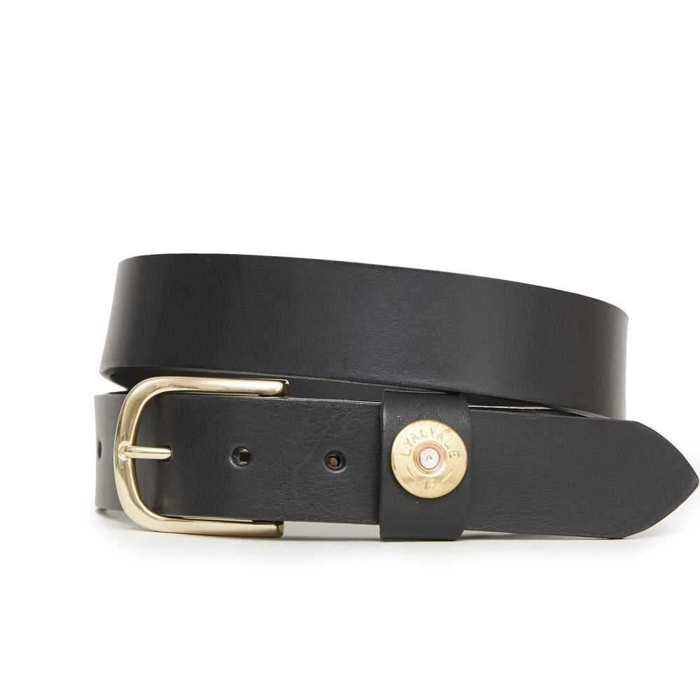Hicks & Hide Moreton Keeper Belt Black Leather - RedMillsStore.ie