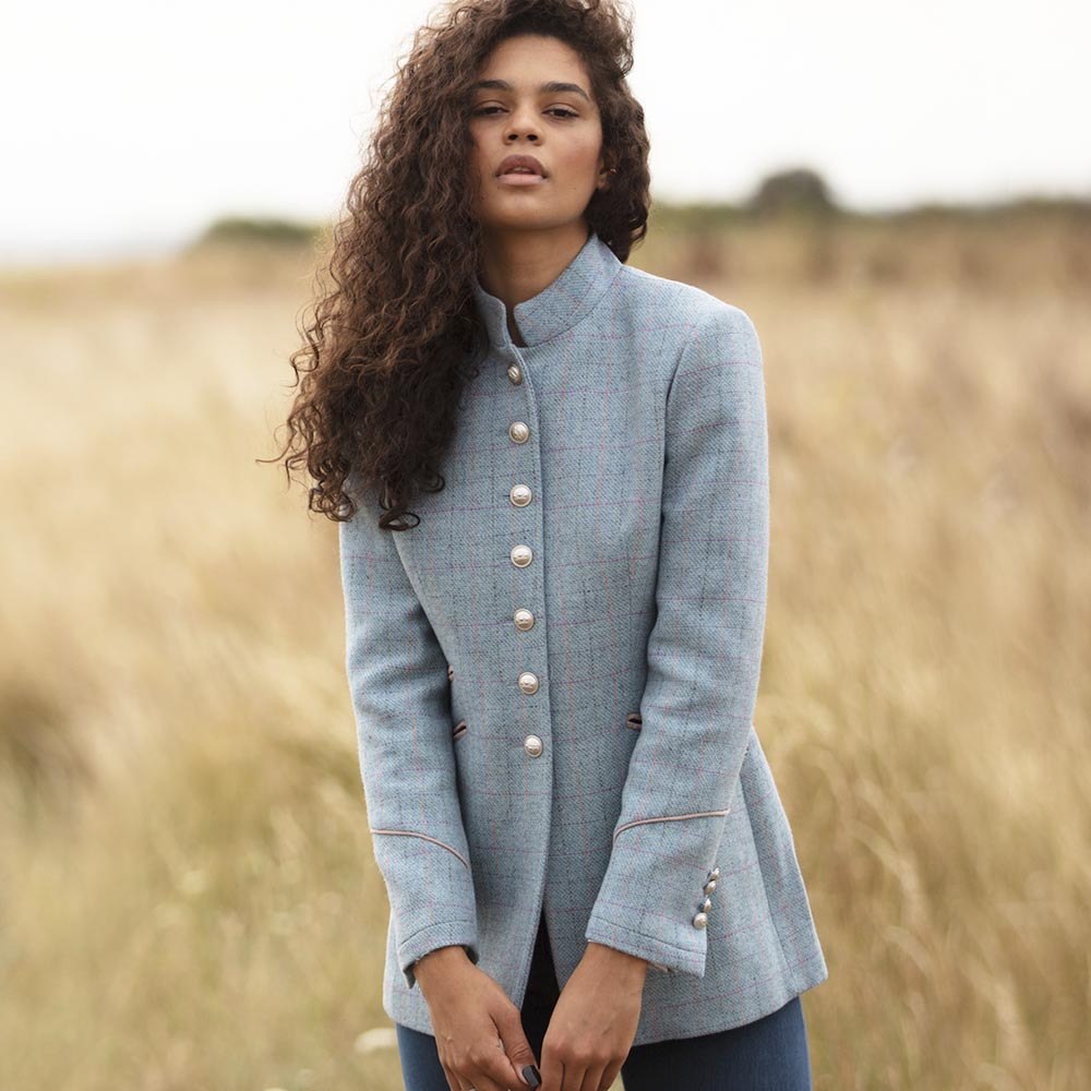 WG Women's Knightsbridge Jacket in Aquamarine
