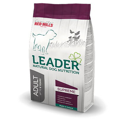 Red Mills Leader Adult Supreme dog food - RedMillsStore.ie