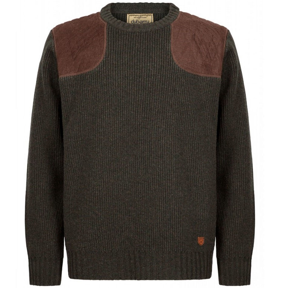 Dubarry Mulligan mens jumper (olive) - RedMillsStore.ie