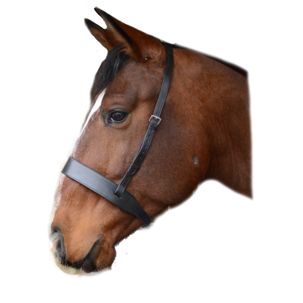 Mackey Classic Wide Flat Cavesson Noseband