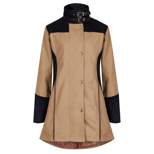 Welligogs 'Odette' Waterproof Womens Coat in Tan - RedMillsStore.ie