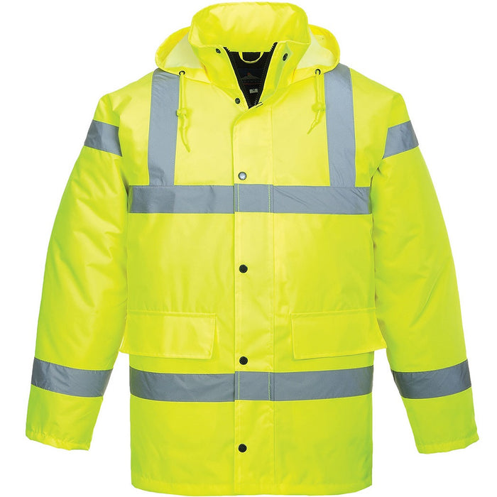 Portwest Hi-Vis Waterproof Traffic Jacket - RedMillsStore.ie