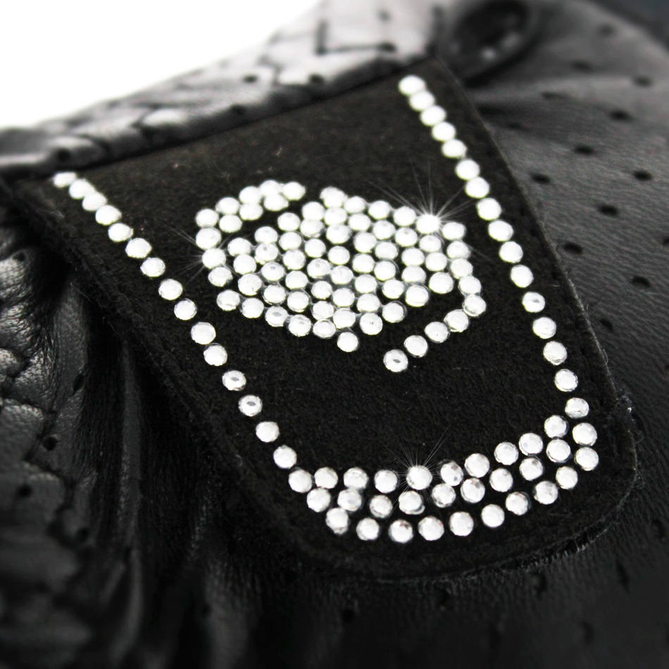 Samshield V-Skin Swarovski gloves in black